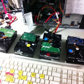 recovery all drives cloned
